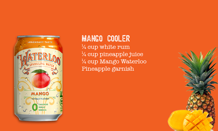 Waterloo Sparkling Water Cocktail Recipe